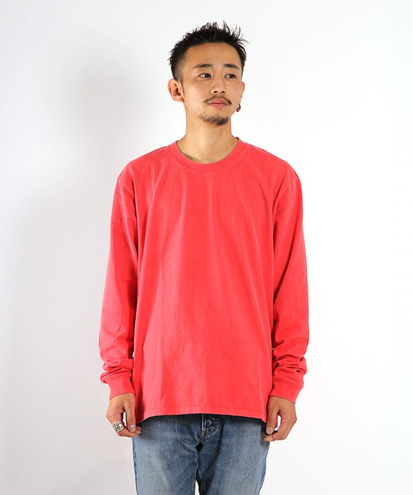 HELICAL LS TEE 【CURLY / カーリー】■SALE■(レッド-1)
