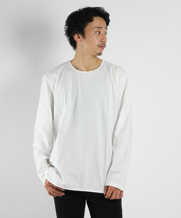 CCR SS CN TEE【CURLY / カーリー】(ホワイト-1)
