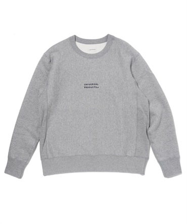 UP+N CREW NECK SWEAT 【 UNIVERSAL PRODUCTS. / ユニバーサル プロダクツ 】