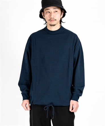 INVERTED PLEATS L/S T-SHIRT 【 I / アイ 】