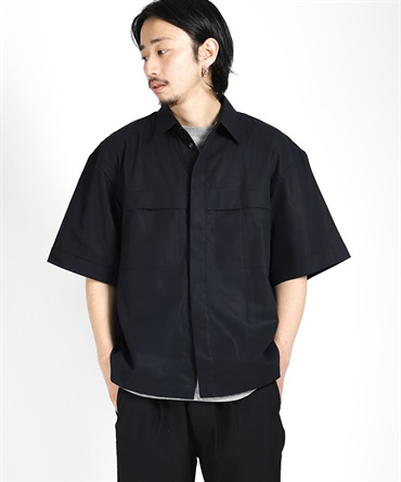 SNAP FRONT S/S SHIRT 【 I / アイ 】■SALE■