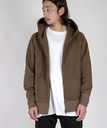 PRESTON ZIP PARKA 【 CURLY / カーリー 】