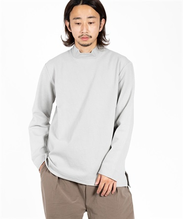 STATIC LS MOCK NECK 【 CURLY / カーリー 】