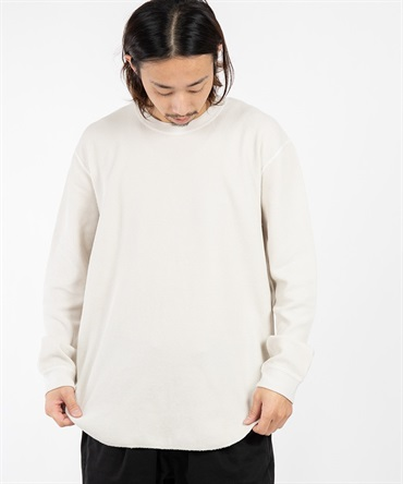 CLOUDY LS TEE 【 CURLY / カーリー 】