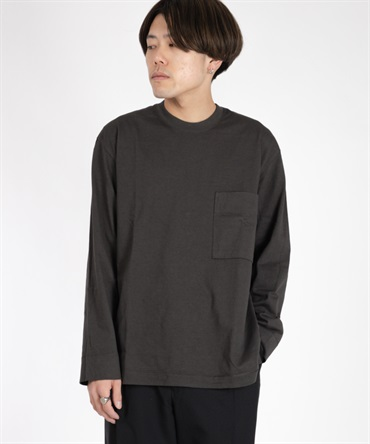 FROSTED L/S POCKET TEE 【 CURLY / カーリー 】