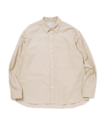 T.M. REGULAR COLLAR L/S SHIRT 【 UNIVERSAL PRODUCTS. / ユニバーサル プロダクツ 】