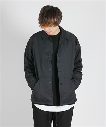 NYLON COACH JACKET【BLANCK / ブランク】
