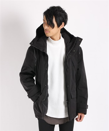 PE/NY HIGT DENSITY MIL CLOTH JACKET ジャケット 【MAIN ATTRACTION / メインアトラクション】