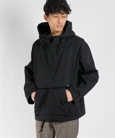 ORGANIC COTTON NEPPED WEATHER CLOTH アノラック 【 MAIN ATTRACTION / メインアトラクション 】