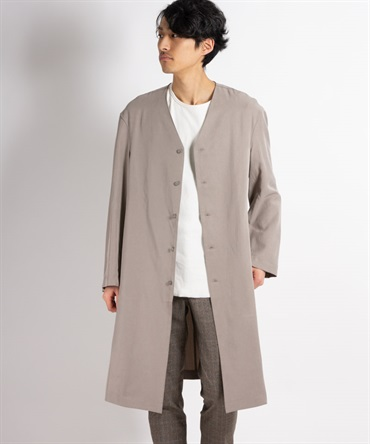 LYO 30/1 GABARDINE NIDOM BIO WASHER COAT コート 【 MAIN ATTRACTION / メインアトラクション 】