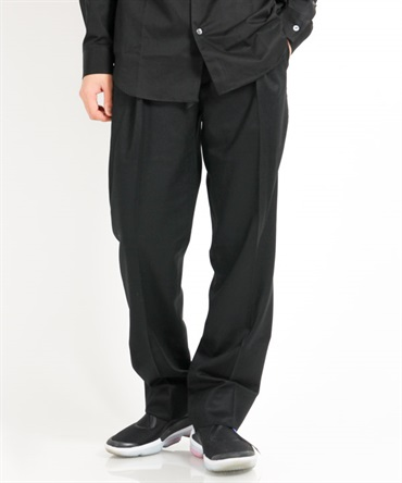 CANONICO SUPER 120's SERGE TROUSERS サージ トラウザー 【MAIN ATTRACTION / メインアトラクション】■SALE■