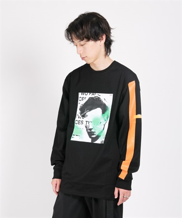 Face PRT Long T-Shirts 【ARCHON/アルコン】