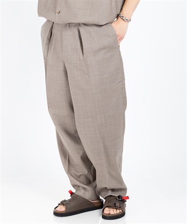 CLASSIC FIT TROUSERS - SUPER 120's WOOL TROPICAL 【 MARKAWARE / マーカウェア 】■SALE■