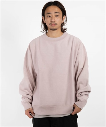 REVERSE FLEECE HUGE CREW - ORGANIC COTTON HEAVY SWITTZER FLEECE 【 MARKAWARE / マーカウェア 】