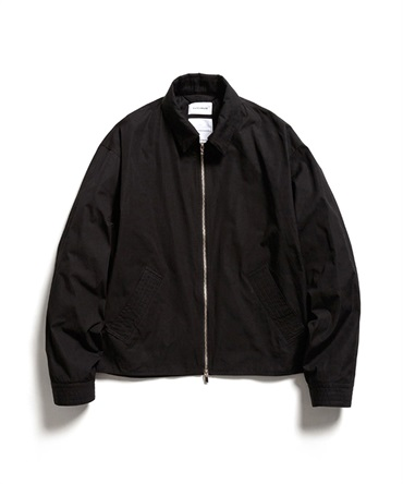 SHORT JACKET - BIODYNAMIE GIZA x SILK TYPE WRITER 【 MARKAWARE / マーカウェア 】