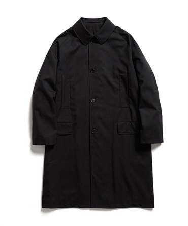 RAGLAN MAC COAT - ORGANIC WOOL TROPICAL 【 MARKAWARE / マーカウェア 】