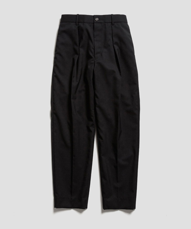 PEGTOP TROUSERS - ORGANIC WOOL TROPICAL 【 MARKAWARE / マーカウェア 】