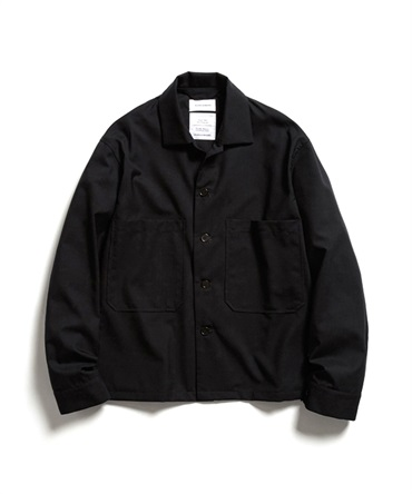 UTILITY SHIRT - SUPER 120's WOOL TROPICAL 【 MARKAWARE / マーカウェア 】