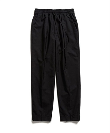 PEGTOP EASY TROUSERS - SUPER 120's WOOL TROPICAL 【 MARKAWARE / マーカウェア 】
