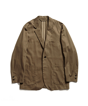SUCK COAT - ORGANIC COTTON KERSEY 【 MARKAWARE / マーカウェア 】