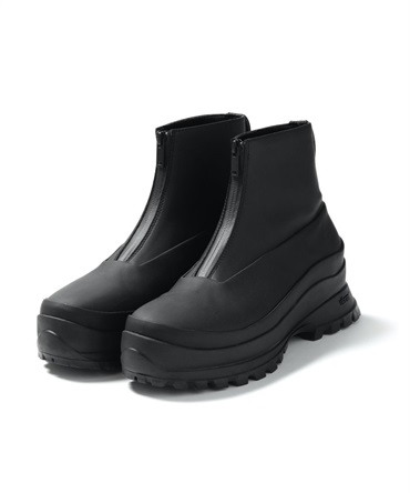 COATED CLOTH FRONT ZIP BOOTS 【 ATTACHMENT / アタッチメント 】