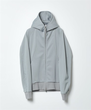 フルート裏毛 ZIP UPパーカー - CO/PE BRIGHT FLEECE ZIP UP HOODIE 【 ATTACHMENT / アタッチメント 】