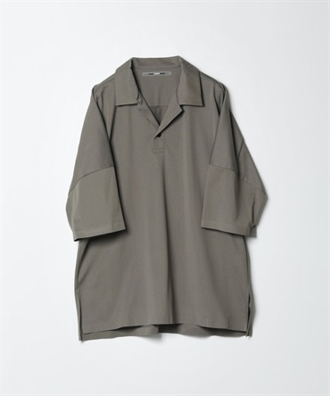 TA/CO/PE トリコット S/S ビッグポロ - TA/CO MIX WARP KNITTING S/S BIG POLO 【 ATTACHMENT / アタッチメント 】