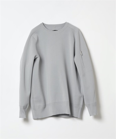 PE KNIT CREWNECK PULLOVER L/S 【 ATTACHMENT / アタッチメント 】