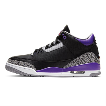 "AIR JORDAN 3 RETRO ""COURT PURPLE""【 JORDAN / ジョーダン 】"