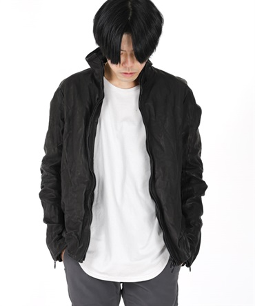 10TH ANNIVERSARY LEATHER TRACK JACKET 【 CIVILIZED / シヴィライズド 】