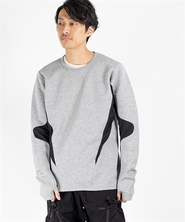 VELOCITY CREW NECK LS 【 CIVILIZED / シヴィライズド 】