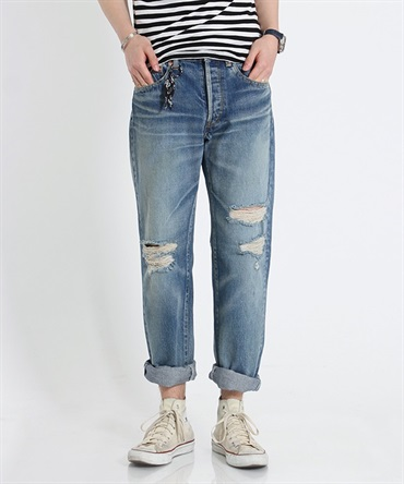 USED DENIM PANTS