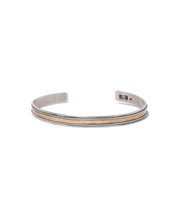925 SILVER BRACELET with BRASS 【 hobo / ホーボー 】