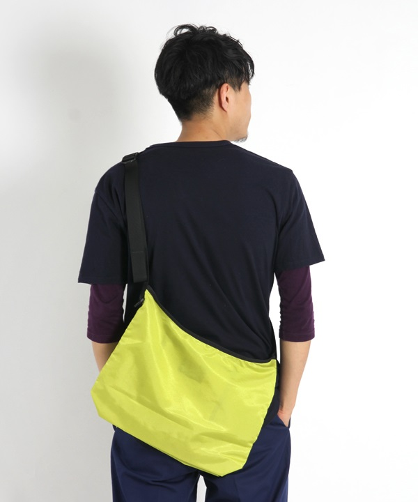 Polyester Ripstop Lightweight Sacoche L■SALE■(グリーン-F)