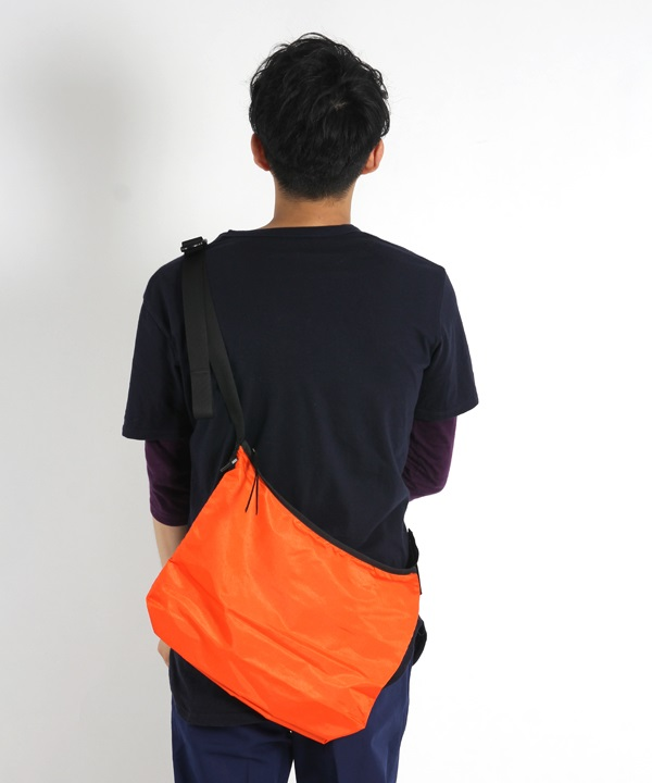 Polyester Ripstop Lightweight Sacoche L■SALE■(オレンジ-F)