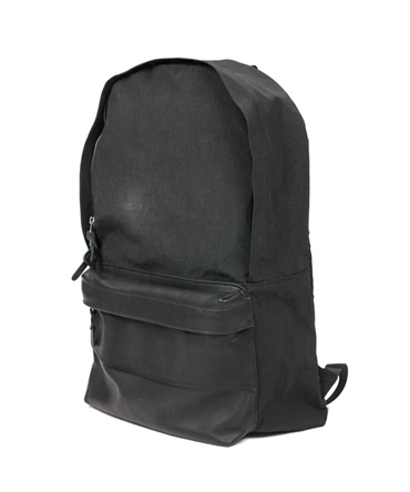 Nylon Oxford Backpack 22L with Cow Leather【hobo / ホーボー】■SALE■