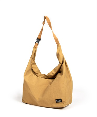 NYLON TUSSAH ROLL TOP BAG 【 hobo / ホーボー 】■SALE■