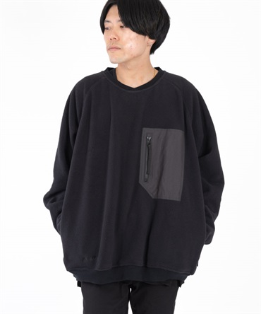 POLARTEC® WIND PRO® FLEECE CREWNECK PULLOVER 【 hobo / ホーボー 】