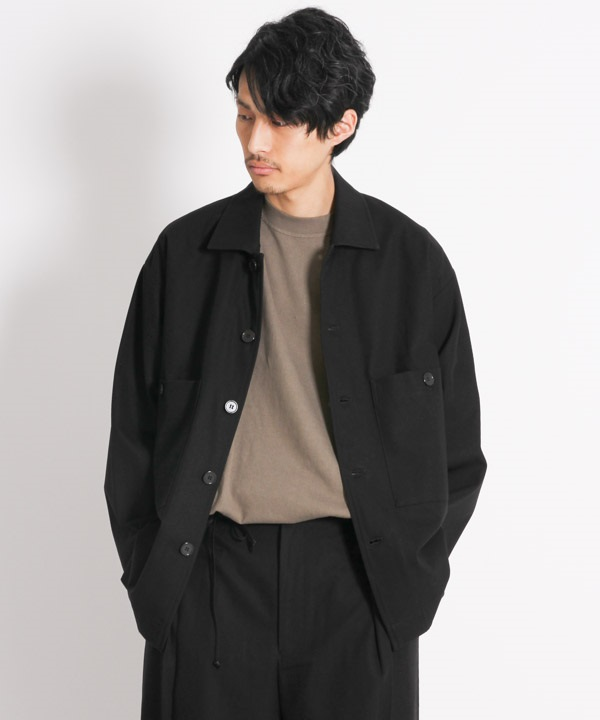 UTILITY SHIRTS - コンパクト30/2強撚ツイル【marka / マーカ】■SALE■