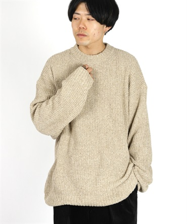 CREW NECK - SILK TOP DYED MELANGE【 marka / マーカ 】