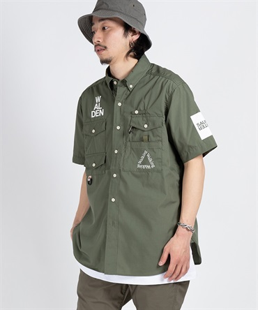 Fisherman's Shirt S/S 【 Mountain Research / マウンテンリサーチ 】■SALE■