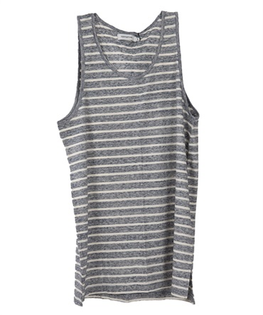 DWELLER TANK TOP COTTON JERSEY BORDER 【 nonnative / ノンネイティブ 】■SALE■
