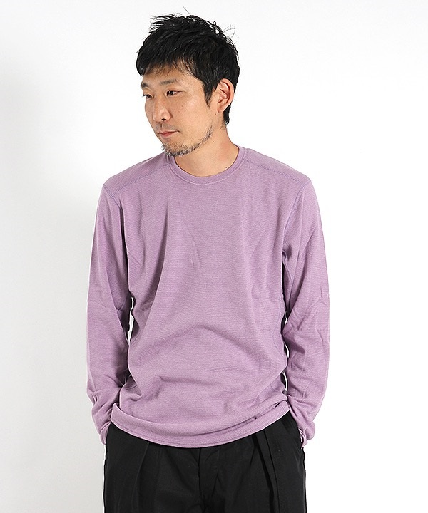 【nonnative】 EXPLORER L/S TEE A/R/N/P JERSEY(ラベンダー-0)