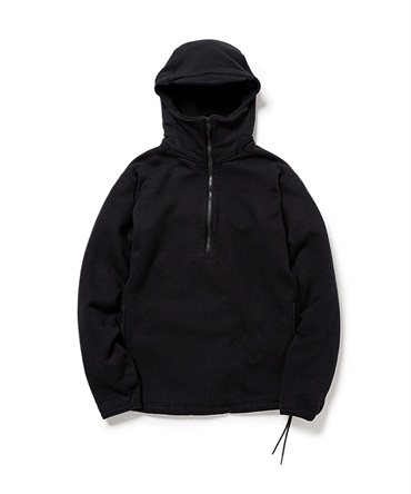 CYCLIST HALF ZIP HOODY COTTON SWEAT【nonnative / ノンネイティブ】
