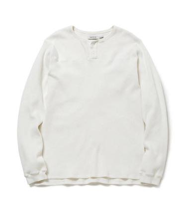 HUNTER HENLEY NECK L/S TEE C/P THERMAL 【nonnative / ノンネイティブ】