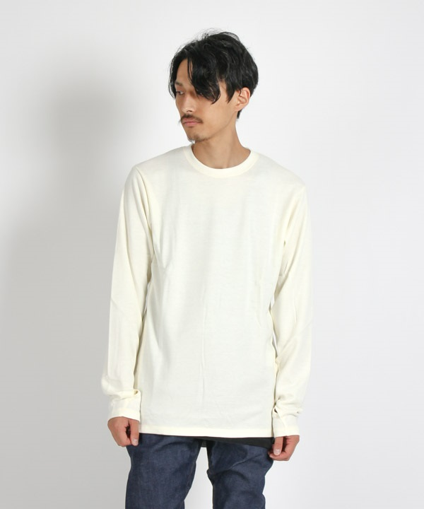 ALPINIST L/S TEE A/R JERSEY【nonnative / ノンネイティブ】■SALE■(ホワイト-1)
