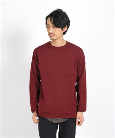 DWELLER L/S TEE COTTON HEAVY JERSEY  【nonnative / ノンネイティブ】