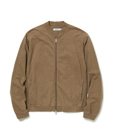 CYCLIST FULL ZIP COTTON SLAB JERSEY OVERDYED 【 nonnative / ノンネイティブ 】■SALE■