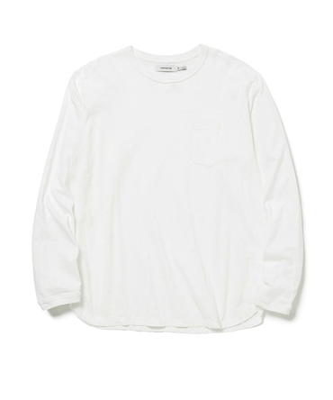 DWELLER L/S TEE COTTON JERSEY OVERDYED 【 nonnative / ノンネイティブ 】■SALE■