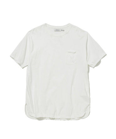 DWELLER S/S TEE COTTON JERSEY OVERDYED【 nonnative / ノンネイティブ 】